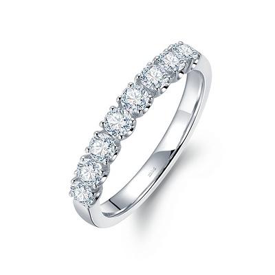 星光(钻戒) 43分白18K金钻石女戒