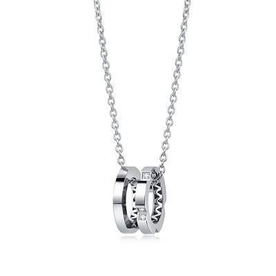 时光Ⅱ 7分铂950钻石吊坠